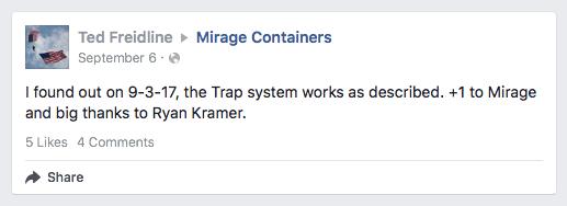 Trap use