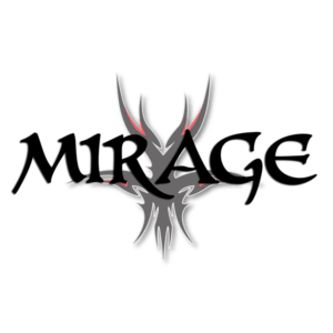 Mirage logo with alien complete icon