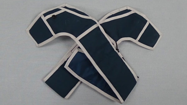 Blue/Silver Replacement Leg Pads