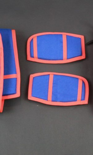 Royal Blue/Orange Replacement Leg Pads