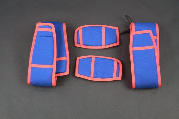 Royal Blue/Orange Replacement Leg Pads