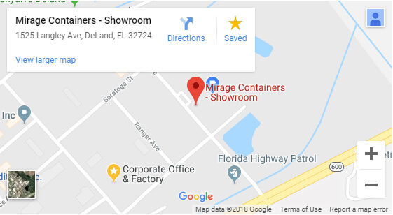 Mirage Showroom Map