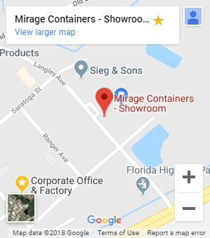 Mirage footer map